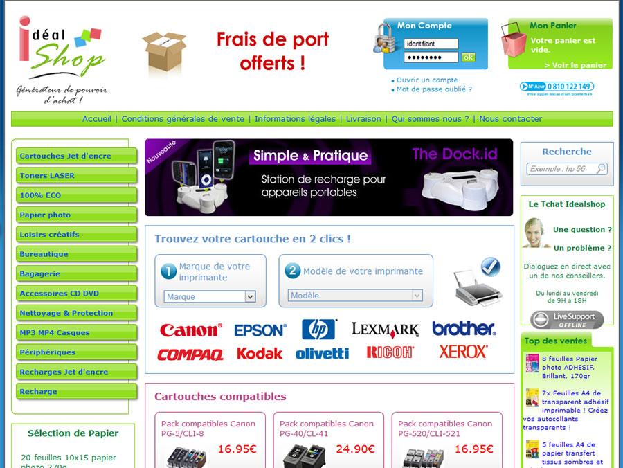 Idealshop - E-Commerce
